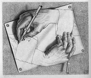 Escher: Drawing Hands